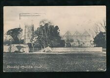 Somerset BROCKLEY Church and Court Used 1922 PPC