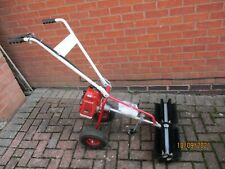 More details for tfcfl 43cc 1.7hp petrol powered walk behind sweeper engine broom brush cleaner