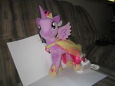 "MLP My Little Pony Large PrincessTwilight Sparkle Plush Stuffed 16"" FIM"