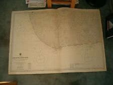 Vintage Admiralty Chart 1863 W. AFRICA - DODO RIVER to BONNY RIVER 1923 edn