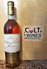 1955 Chateau Gilette Creme de Tete Sauternes wine, France