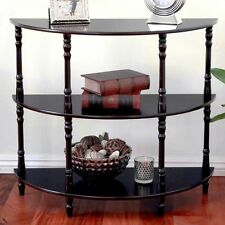 Frenchi Home Furnishing 3- tier Half Moon Console Table