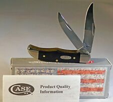 Case XX Black Synthetic Smooth Pocket Hunter Knife