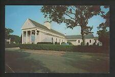 Massachusetts MA postcard Cape Cod Hyannis St. Francis Xavier Church JFK chrome