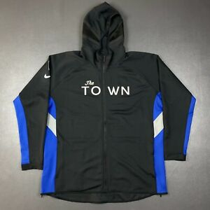 100% Authentic Warriors The Town Nike Full Zip Jacket Size 2XL Mens 52