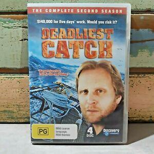 Deadliest Catch: Complete Season 2 4-DVD set WATCHED ONCE Alaskan Crab Fishing