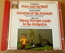 Prokofiev - Peter & The Wolf -Kurtz - Emi CD - No Ifpi UK 1st Issue