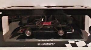 1/18 Minichamps 1970 VW Karmann Ghia Convertible Black Limited Edition