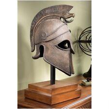 """25"""" Ancient Greek Macedonian Helmet Museum Mount Model Sculpture"""