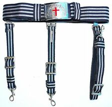 KNIGHTS TEMPLAR Sword Belt & Buckle for Waist Size 36