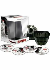 "Coffret collector Rambo L'intégrale - Blu-Ray - Edition Limitée ""Grenade"" neuf"