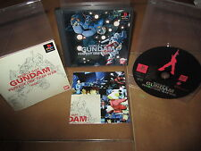 PS1-Mobile Suit Gundam Perfect One Year War x Playstation (Jap) Boxed Raro!
