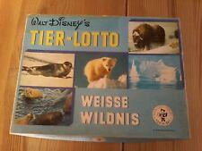 Walt Disney's Tier - Lotto, Spiel Rarität, weisse Wildnis, Nr. 6050401