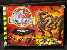 Jurassic Park III 3 Island Adventure Board Game Dinosaur Milton Bradley (m)