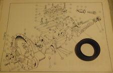 MORRIS Morris Ital 1275cc    REAR GEARBOX OIL SEAL    (Manual)   (From 1980- 84)