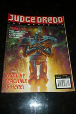 JUDGE DREDD THE MEGAZINE Comic - Series 2 - No 12 - Date 10/1992 - Inc Gift