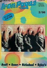 Iron Pages Nr.37 - 2/1996,Anvil,Saxon,Girlschool,Ryker´s,Pro-Pain,Virgin Steele