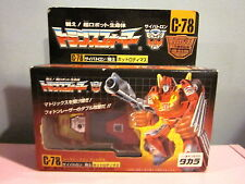 Transformers Takara Japanese Re-Issue C-78 Hotrod