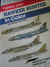 SS PUBLICATIONS HAWKER HUNTER IN COLOR  BOOK