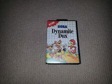 Dynamite Dux Sega Master System Game, Cleaned and Tested