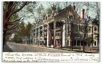 1910 Draper Hall, Oconomowoc, WI Postcard