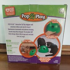 New listing Allstar Innovations Pop N' Play Interactive Motion Cat Toy