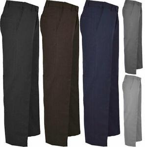 Casual Office Pant Mens Smart Belt Pocket Pant Gents Office Trouser Slim Fit