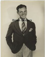Vintage 1920s Eddie Quillan Oversized DBW Photo by Russell Ball - Brown Bros