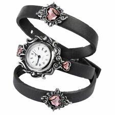 Pewter Wristwatch Watch - Boxed Alchemy Gothic Heartfelt Fine English