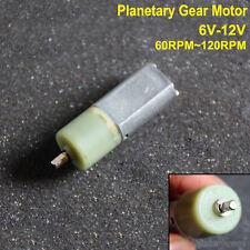 DC 6V~12V Micro DC Planetary Gearbox Reducer Motor Full Metal Gear Long Torque
