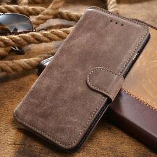 Handy Tasche für Samsung iPhone Huawei Flip Cover Case Schutz Hülle Etui Wallet