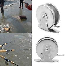 Mini Metal Reel Fishing Spinning Reel Ice Fishing Freshwater Saltwater New