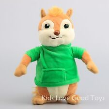 Alvin and the Chipmunks Theodore Soft Plush Toy Stuffed Animal Doll 9'' Teddy