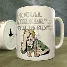 Be a Social Worker They Said...It'll Be Fun They Said! - Mug