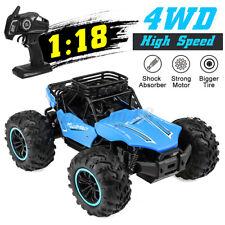 2.4GHz 1/18 RC Monster Truck Crawler 4WD 15KM/h Elektro Ferngesteuert Auto DE