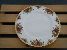 C4 Porcelain Royal Albert Country Rose Plate 27 cm 9A2G