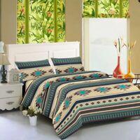 "Bed Sheets Southwest Aztec 4 piece Tribal Set Microfiber Soft 16"" Deep Pockets"