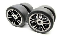 XO-1 TIRES Front/Rear (#6479 & # 6477) Set of 4 Wheels Tyres Traxxas #6407