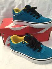 Genuine Aqua Es Square One Youth Kids Skater Shoes UK Childrens Size 10 BNIB