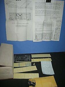 HO The Steam Shack: Resin, CV or GTW, Rebuilt extended SD box car kit. C-9 sc
