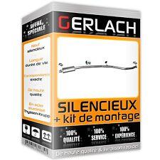 Pour Peugeot 206 CC 1.6i 16V Coupe Decapot. 00-05 silencieux intermediaire 2242