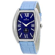 Milus Agenios Automatic Blue Dial Ladies Watch AGES01