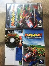 Mario Kart Double Dash Black Label CIB Complete in GREAT COND for Gamecube!