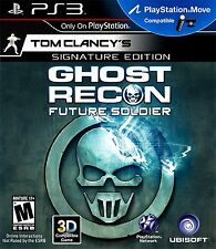 Tom Clancy's Ghost Recon Future Soldier Signature Edition PS3 - LN