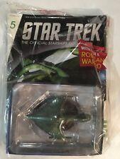 Star Trek Starships Collection Romulan Warbird #5 w/ Magazine Unopened