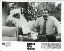 ED O'NEILL SANTA CLAUS PORTRAIT MARRIED WITH CHILDREN ORIG 1995 FOX TV PHOTO