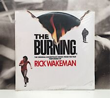 RICK WAKEN - THE BURNING - SOUNDTRACK OST LP NUOVO SIGILLATO COVER EX