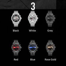 WEIDE Dual Display Digital Quartz Men Watch Business Military Wristwatch W6K7