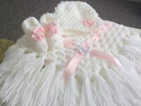 🎅🏻Handmade Crocheted Dolls Pram Set🎅🏻