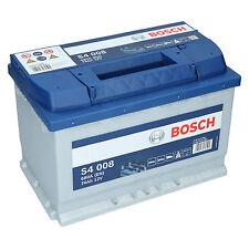 Bosch S4 008 12V 74Ah 680 A EN Autobatterie Starterbatterie ersetzt 70Ah 75Ah